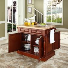 kitchen butcher block kitchen island with 47 kf30006ch e3 jpg