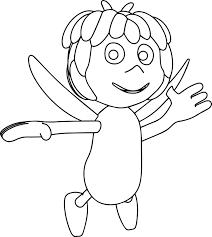 maya bee coloring pages wecoloringpage