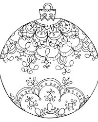 ornament drawing ornament coloring page