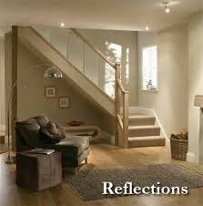 Stair Banister Parts Reflections Glass Balustrade Handrail Parts