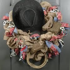 horseshoe ornaments tin antique rust western ornaments hat boot horseshoe 3