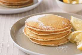 Pancake Flour Basic Pancakes With Lemon And Sugar