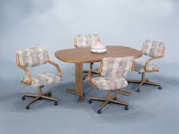 Kitchen Chairs With Rollers by Beautiful Kitchen Chairs With Rollers In Interior Design For Home