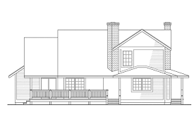 View Lot House Plans Country House Plans Corbin 10 020 Associated Designs