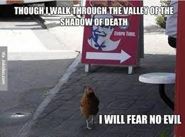 Extremely Funny Memes - i will fear no evil meme