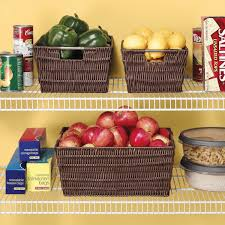how to organize with baskets embrace the perfect mess