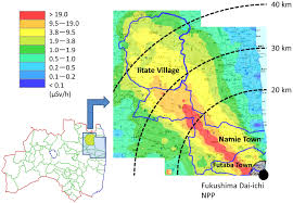 Fukushima Radiation Map An Influential Factor For External Radiation Dose Estimation For