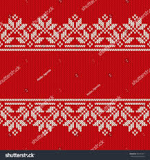 traditional fair isle style seamless knitted stock vector