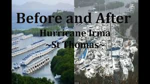 hurricane irma before and after ft st thomas st martin virgin