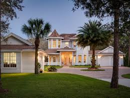 Florida Home Decorating Ideas Large Modern Florida Style Ranch House Plans Exterior Design That