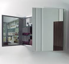 Wide Mirrored Bathroom Cabinet 40
