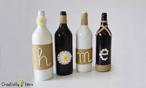 diy glass bottle home decor u2013 3 simple ideas creativity hero