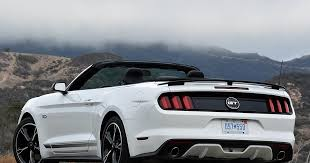mustang quarter 2017 ford mustang gt convertible california special edition white
