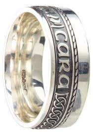 mo anam cara the wedding band shop sterling silver gold mo anam cara ring