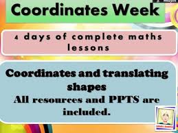 coordinates and translation week year 4 by raphella teaching