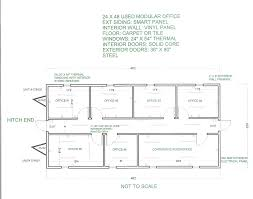 Triple Wide Modular Homes Floor Plans Single Office Floor Plan With Concept Hd Pictures 40781 Kaajmaaja