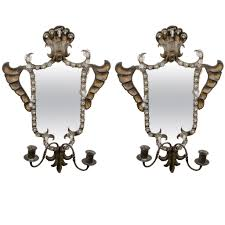 Mirror Wall Decor by Awesome Mirror Sconces Wall Decor Images Home Design Ideas