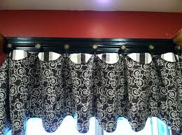 theme valances handmade kitchen valance and trim with knobs pate pattern