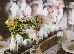 Vintage Wedding Table Decorations Unique Muted Fall Wedding