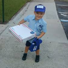 mail carrier mailman costume activities pinterest