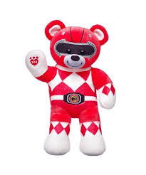 build a teddy the build a power ranger teddy bears are coming