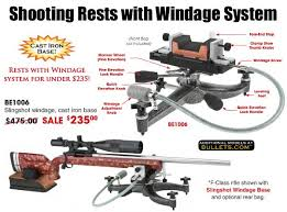 Shooting Bench Rest Reviews Huge Discounts On Bald Eagle Front Rests From Bullets Com Daily