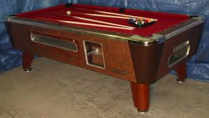 Valley Pool Tables by Valley Cougar Bar Size Commercial 7 U0027 Coin Operated Pool Table