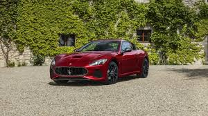 matte black maserati convertible 2018 maserati granturismo luxury sports car maserati usa