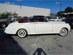 rolls royce vintage convertible 1961 rolls royce silver cloud ii for sale