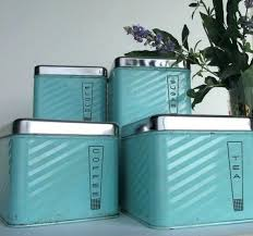kitchen canisters blue teal canister set metal kitchen canister set teal canisters