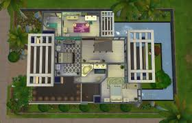 superb modern house blueprint sims 4 15 the sims design tour on