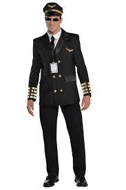 christys dress adults pilot captain wingman airline mens uniform