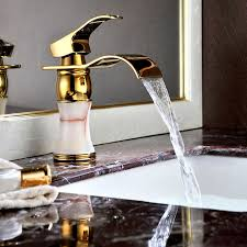 Bathroom Waterfall Faucet by Nora Antique Bronze Bowlder Waterfall Sink Bathroom Waterfall