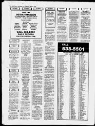 free resume templates bartender nj passaic record from morristown new jersey on june 12 1982 page 30
