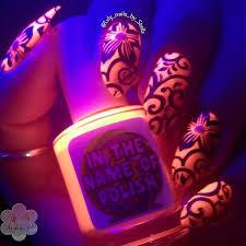 30 eye catching glow nail art designs dark nail polish dark