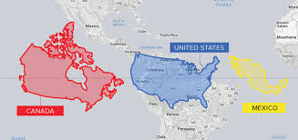 Map Of Mexico And South America by The Problem With Our Maps Stratfor Worldview