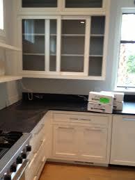 glass cupboard doors sliding kitchen cabinet doors 2