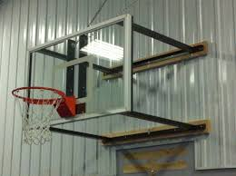 Adjustable Basketball Hoop Wall Mount Indoor Hoops Sportgames