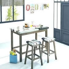fabriquer une table haute de cuisine chaise plan de travail table haute plan de travail chaises fabriquer