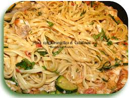 que cuisiner avec des courgettes pâtes au cabillaud et aux courgettes miechambo cuisine