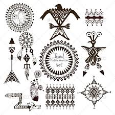 list of synonyms and antonyms of the word indian tribal tattoos