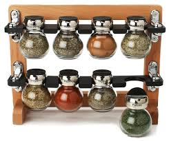 Spice Rack Holder Furniture Recycled Wooden Spice Rack For Kitchen Organizer Ideas