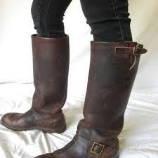 men s tall motorcycle riding boots vintage hudson bay boots herters brown from jackpotjen guys