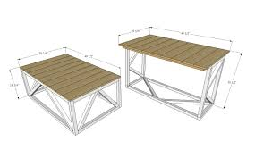 coffee table dimensions coffee table dimensions at home and interior design ideas