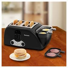 Two Toasters West Bend Egg U0026 Muffin Toaster 4 Slice Target