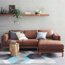 Leather Sofa Small Small Leather Sectional Best Sectionals Ideas On Pinterest