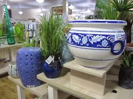 Tjmaxx Home Decor Garden Stool Blue And White Home Outdoor Decoration