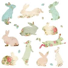 stickers for fabric the fabric rabbit wall stickers spin collective