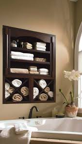 built in bathroom towel shelf my dream home pinterest