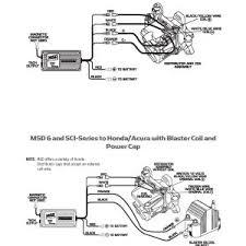 wiring diagram distributor wiring diagram honda new msd ignition